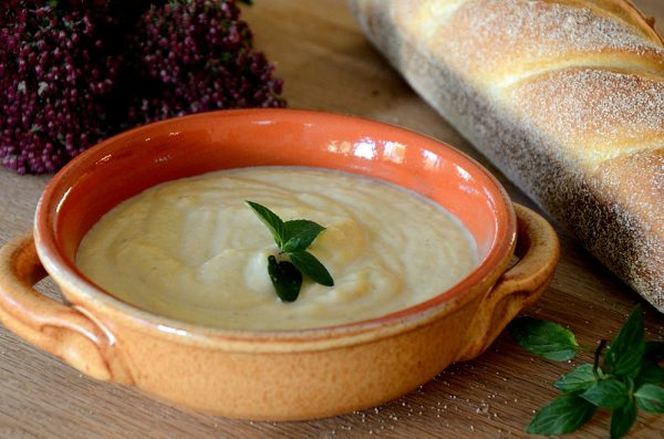 Roasted Pear and Parsnip Soup