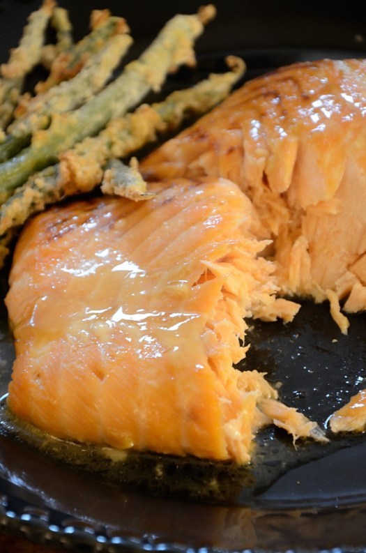 This Maple Mustard Salmon is so easy to make you can have it on the table in 25 minutes.
