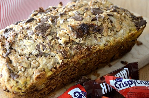 Cadbury Pumpkin Bread