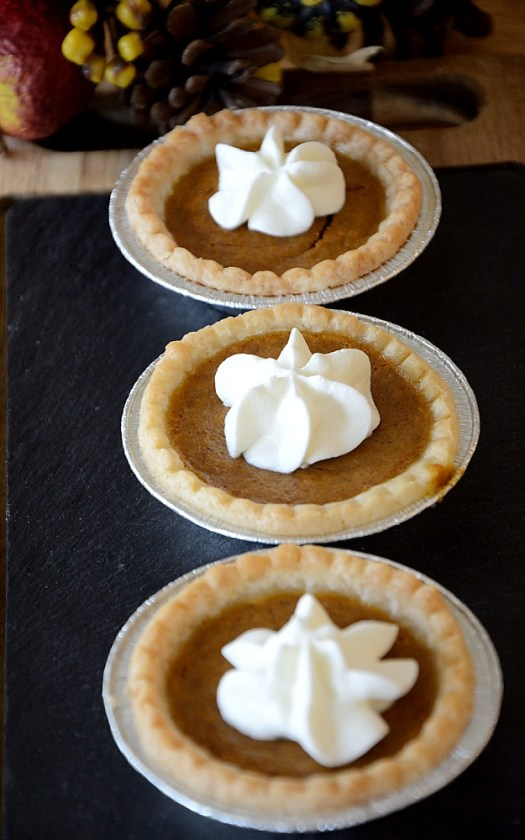 For years I have been making pumpkin pies with a hit of dark rum so these Spiced Rum Pumpkin Tarts are a natural extension.
