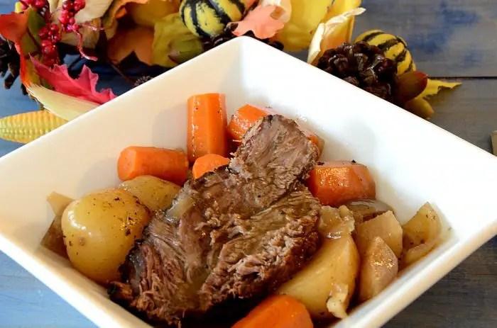Slow Cooker Savoury Pot Roast