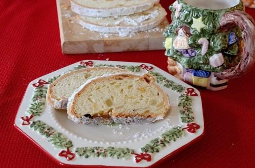 Classic Christmas Stollen (Bread Machine)
