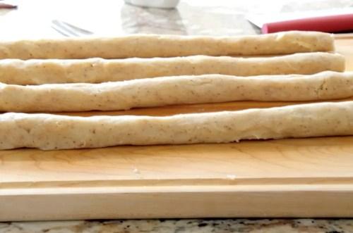 vanilla crescent dough ropes