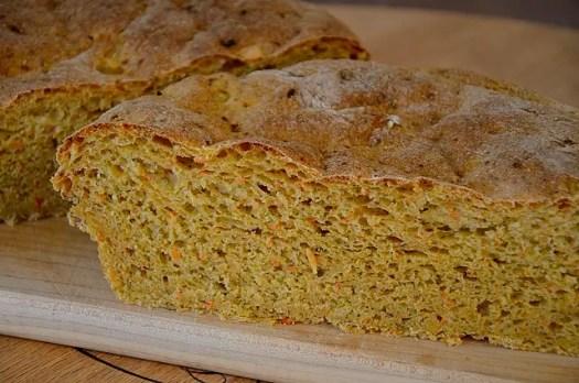 Bread Machine Carrot Rye Bread