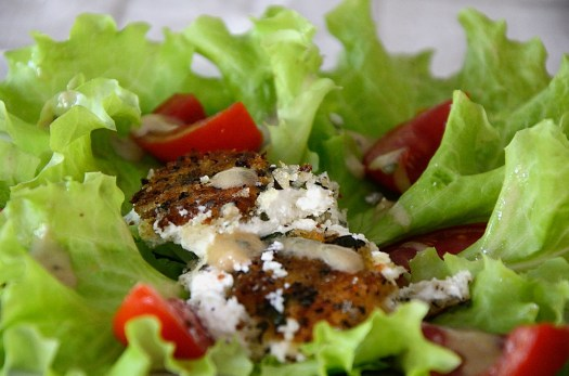 Grilled Goat Cheese Salad