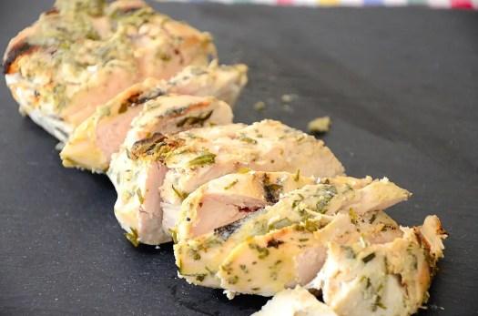 Dijon and Tarragon Grilled Chicken