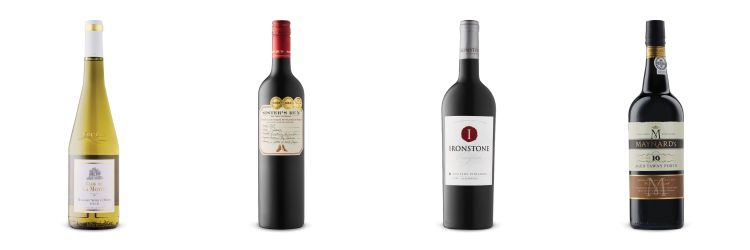 Four wine bottles from Sept 14, 2019 LCBO Vintages Release