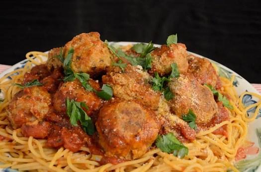 The Best Ever Spaghetti & Meatballs