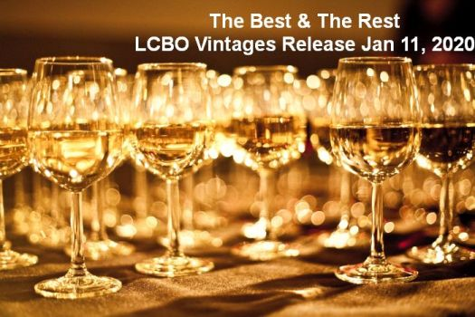 The Best and The Rest  Jan 11, 2020 LCBO Vintages Release