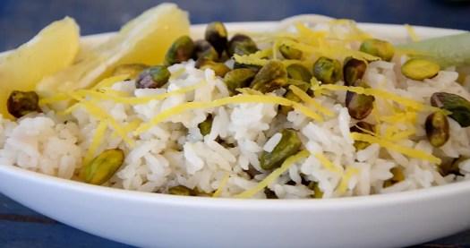 Lemon Pistachio Rice