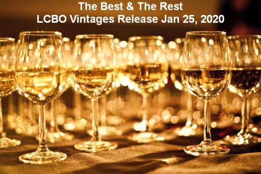The Best and The Rest  Jan 25, 2020 LCBO Vintages Release