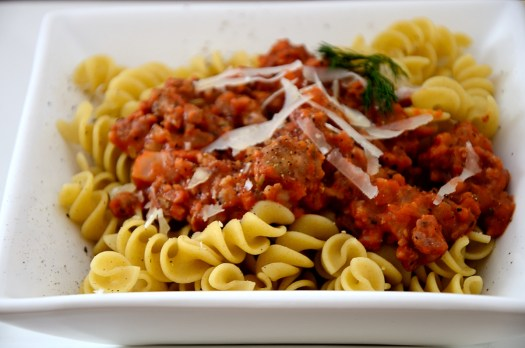 Fennel and Sausage Pasta