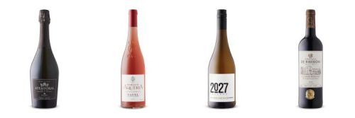 Four bottles of wine from Aug 8, 2020 LCBO Vintages Release