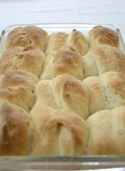 Easy Bread Machine Parker House Rolls