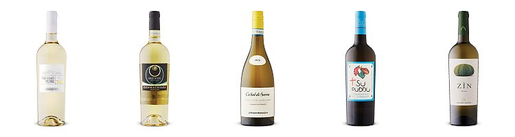 Five Italian white wines from July 24, 2021 LCBO Vintages release.