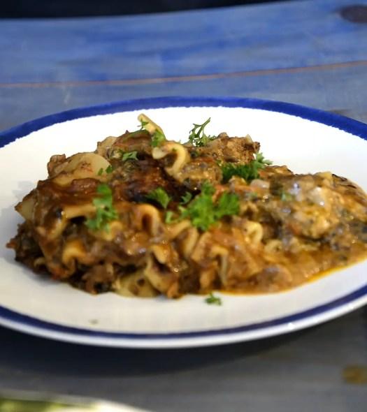 Ottolenghi Lasagne With Mushroom Ragu