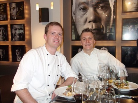 Chef Martin and Assistant Chef, Gavin