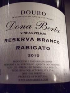 Dona Berta Ribagato 2010