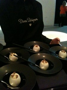 truffled eggs go with DP so well