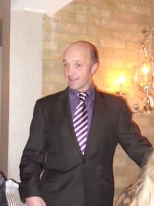 Thierry Tomasin, proprietor and host