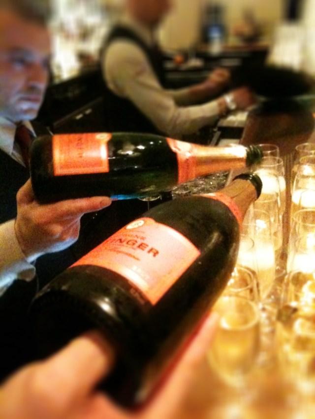 Taittinger Comtes de Champagne Rose Brut 2004, Moti Mahal, Covent Garden, London