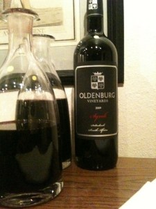 2009 Oldenburg Vineyards Syrah