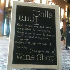 I know this great little place in Covent Garden…Dalla Terra