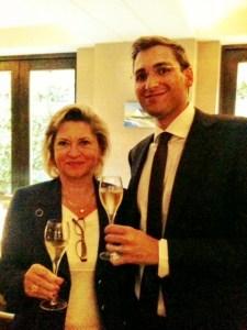Carol and Julien Duval Leroy