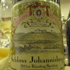 German wines at a Scandinavian supperclub