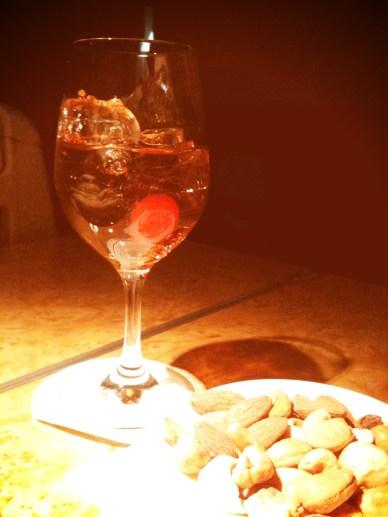 they even have maraschino cherries for my Manhattan