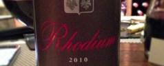 Oldenburg Vineyards Rhodium 2010