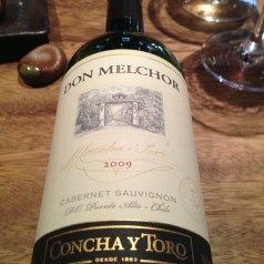 Lunching with Concha y Toro at Novikov