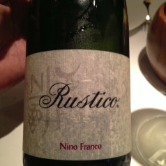 Nino Franco Prosecco. Prosecco but not as you know it…