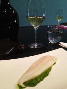wild sorrel and sole - an explosion of anise