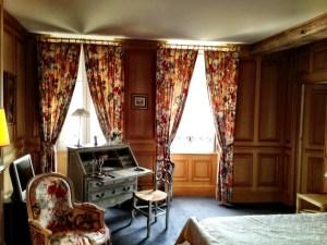 bedroom, Billecart-Salmon house