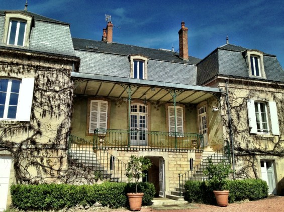 the house of Domaine Parent Pommard