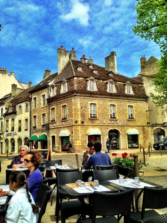 lunch on the Place Carnot