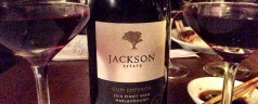 Dining with the wines of NZ winery Jackson Estate