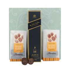 Thorntons Chocs and whisky for Christmas
