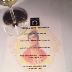 Sherry Masterclass and visit to The Sign of the Don