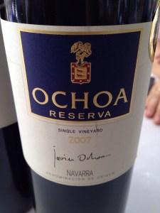 Ochoa Reserva 2007