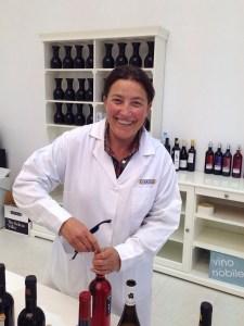 Concha Vecino, winemaker of Nekeas