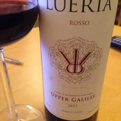 Lueria wines from the Upper Galilee, new Israeli wines in the UK