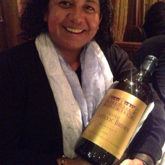 Chateau Cantenac Brown Margaux dinner at Clos Maggiore, London