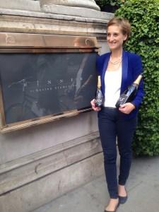 Moet wine maker Elise Mosfelt