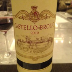 Dinner with Barone Francesco Ricasoli and his Brolio wines