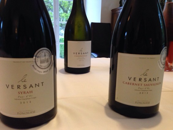 a few of Le Versant wines