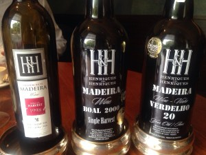the Madeira wines
