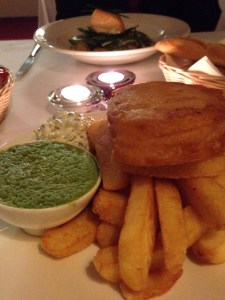 Fish and Chips, image by The Winesleuth