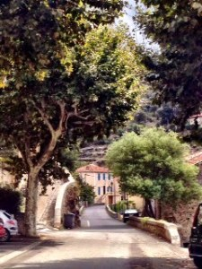 Roquebrun main street